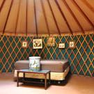 Interior of the Yurt