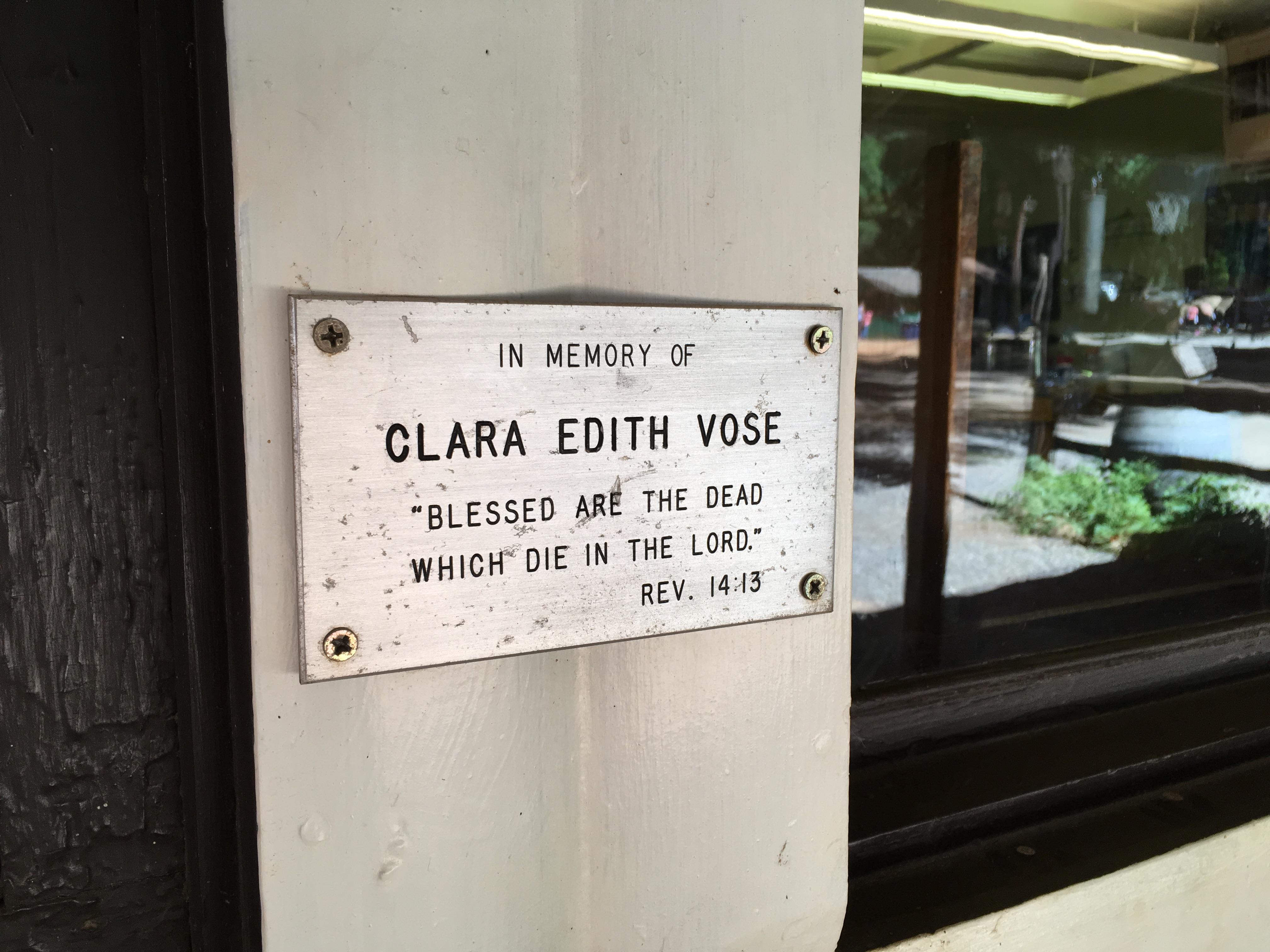 Clara Edith Vose