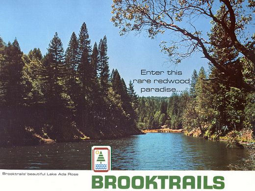 Vintage Brooktrails Brochure