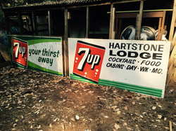 Old 7up Signs