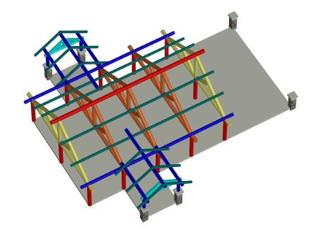 3-D custom floor plans