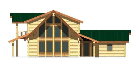 Custom timber barn plan