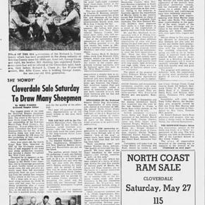 1950 Foster Redwood Empire Sheep Dog Association