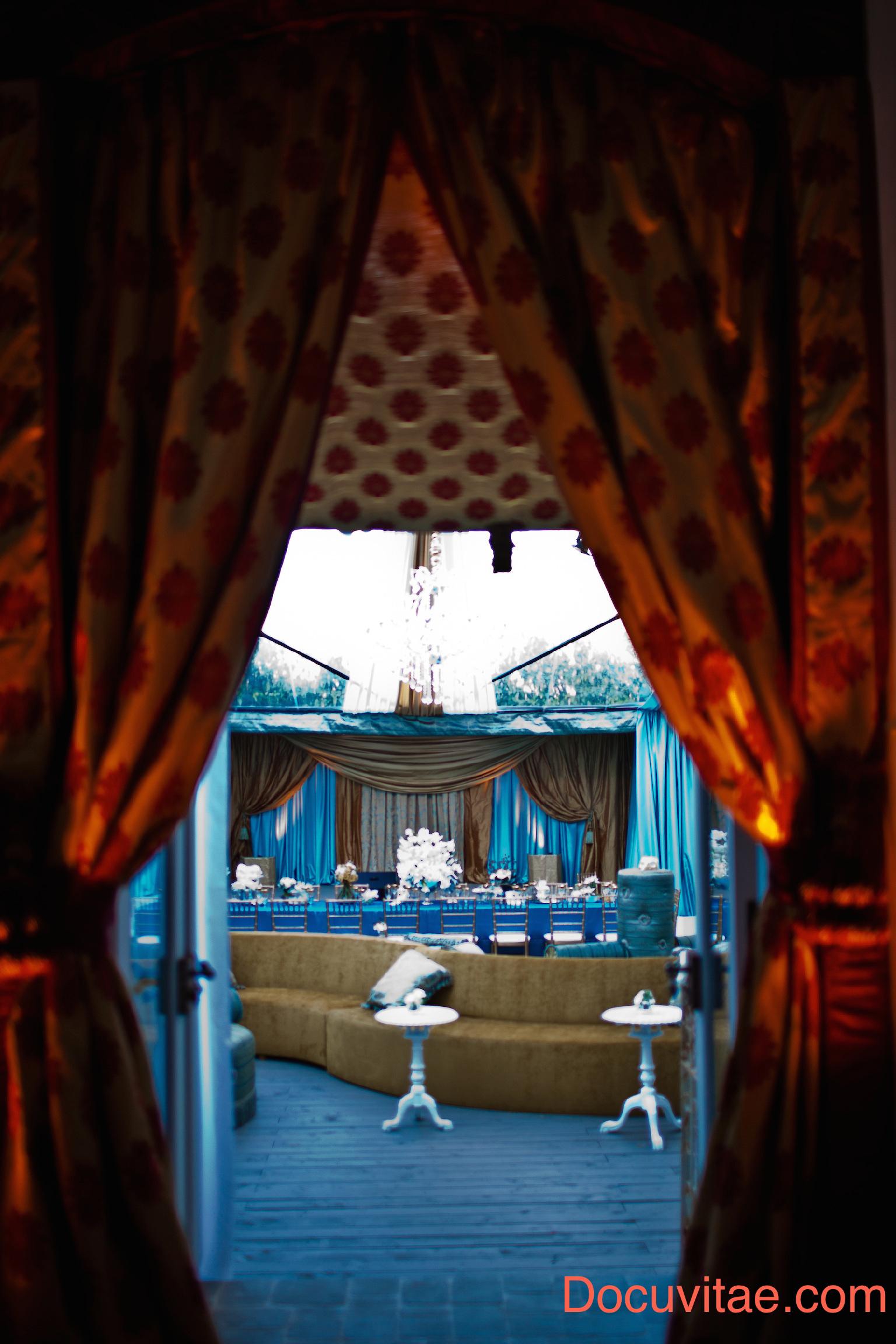 Masquerade 3 Curtains