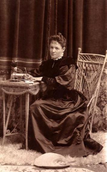 Grace Hudson, c. 1897.