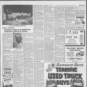 Foster 1952 Press Democrat