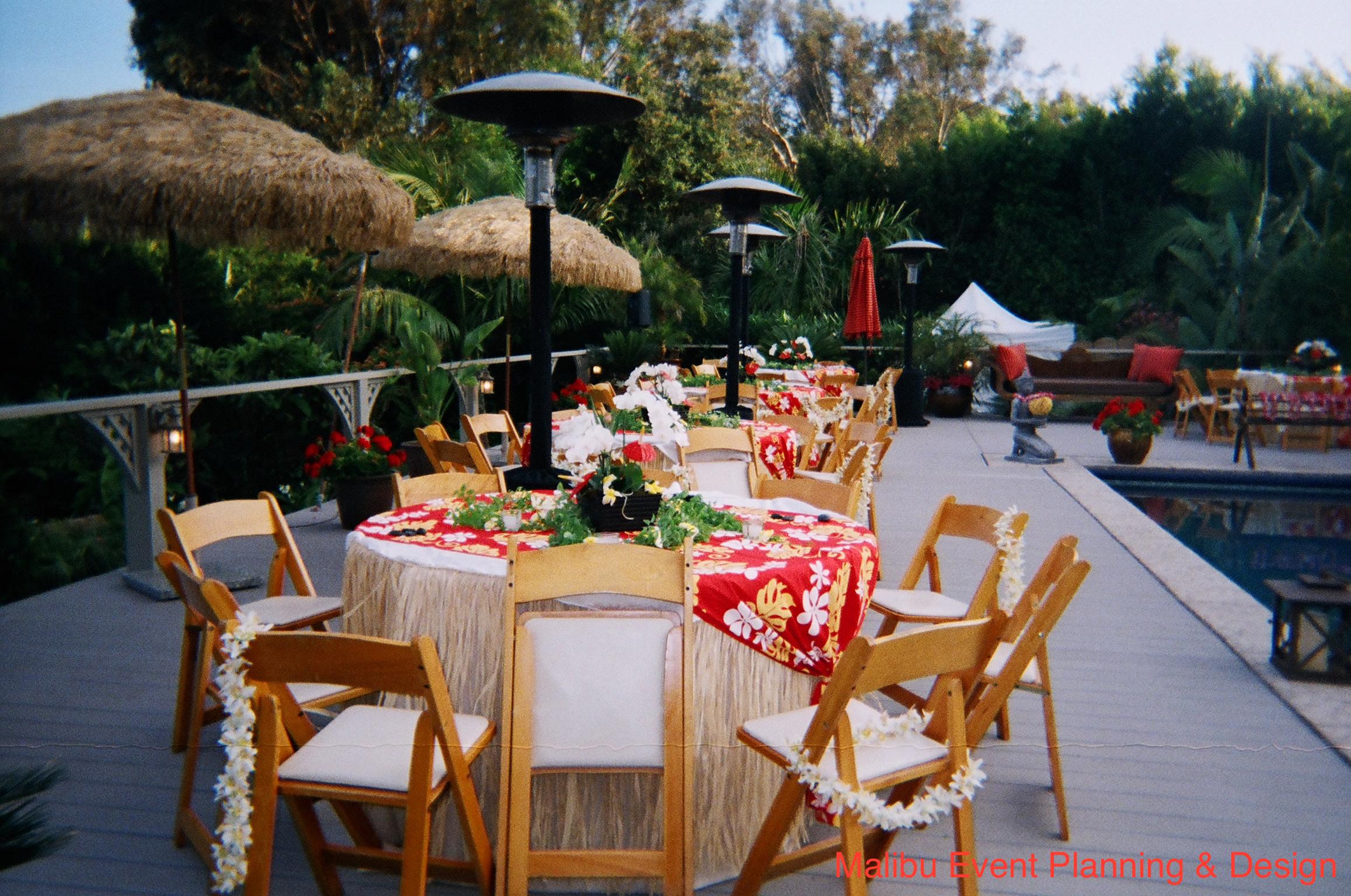 Table Setting 7 Luau
