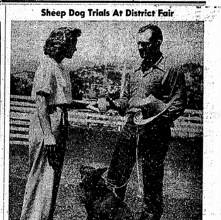 1960 Empire Living Article Featuring Foster's son Don with his McNab, Merry Legs
