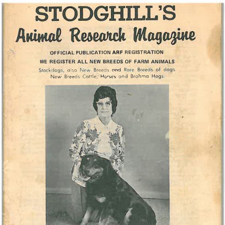 Stodghill's Animal Research Magazine