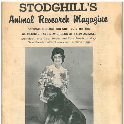 Stodghill's Animal Research Magazine