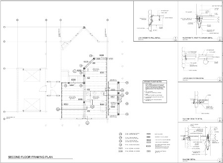 Custom timber home floor plan