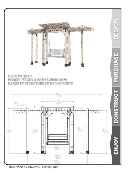 Shade structure floor plans