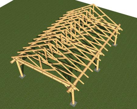 Custom barn floor plan