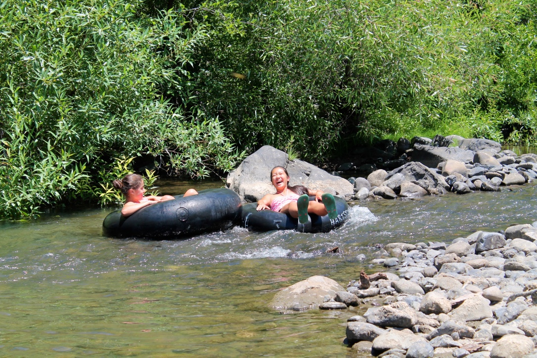 Tubing the River