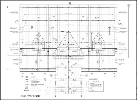 Log barn engineering