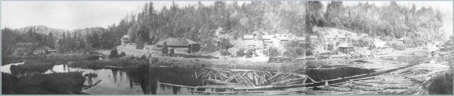 Panoramic view of Northwestern Mill 1