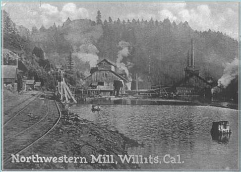 Northwestern Mill, Willits, CA