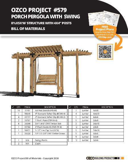 Custom shade structure plans