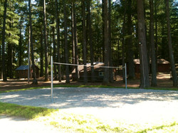New Lighted Volleyball Court
