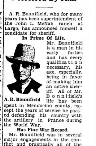 Long article about Alvin Bonnifield