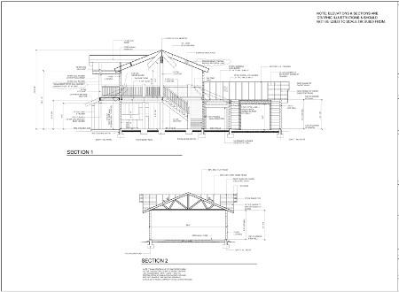 Custom timber home engineering