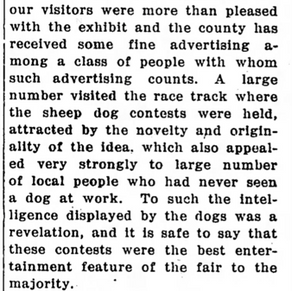 Hopland Fair 1914