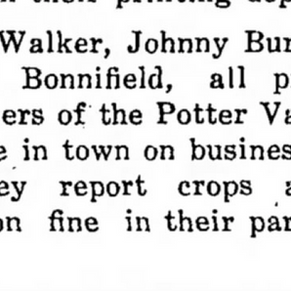 UDJ 1910 Walker Bonnifield