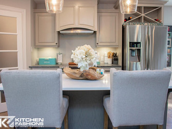 Soapstone Kitchen With Teal Accents