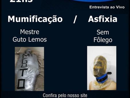 Hj às 21hrs na rádio virtual (pela internet) Agita Planeta estarei falando sobre mumificação e meu a