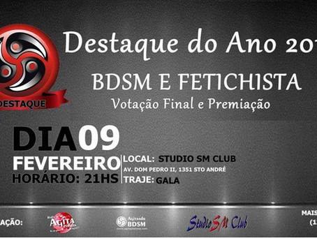 "Mestre Guto Lemos recebe o prêmio destaque ""leatherman 2018"" pela Rádio Agita Planeta!"
