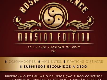 BDSM Experience Edição Mansão (piscina) - finde 11 a 13 de janeiro.  Quer passar um finde na faixa s