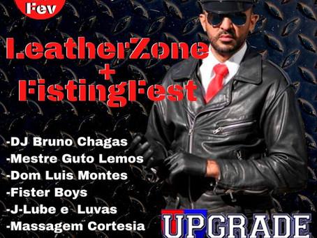 Fisting Fest + LeatherZone BDSM nessa sexta 28/02/20 na Upgrade Club. Não vai perder essa, vai???