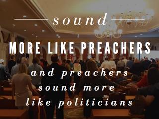 JUNE 2019 TRIP TO WASHINGTON D.C.- When politicians sound more like preachers...