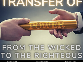 02.04.21 MSG FROM JESUS: TRANSFER OF POWER FROM THE WICKED TO THE RIGHTEOUS
