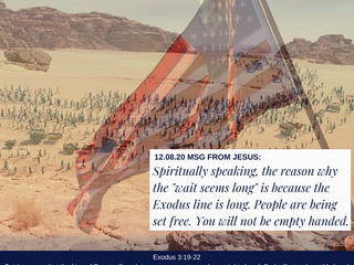 """12.08.20 MSG FROM JESUS: Spiritually speaking, the reason why the """"wait seems long"""" is bc..."""