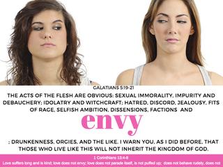 ENVY IS A DANGEROUS SIN