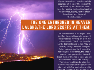 01.06.21 REMINDER MSG FROM JESUS: HE WHO'S IN HEAVEN LAUGHS LAST