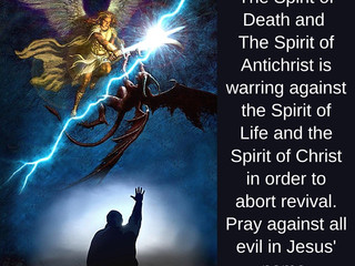 05.03.20 MSG FROM JESUS: The Spirit of Antichrist is warring against the Spirit of Christ