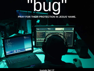 """06.28.20 MSG FROM JESUS REGARDING THE TRUMP FAMILY: """"BUG"""" PRAY FOR THEIR PROTECTION IN JESUS' NAME."""