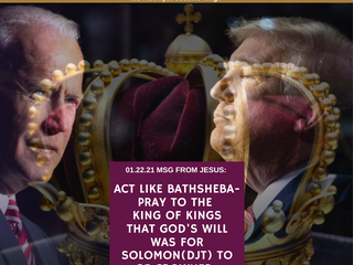 01.22.21 MSG FROM JESUS: ACT LIKE Bathsheba-