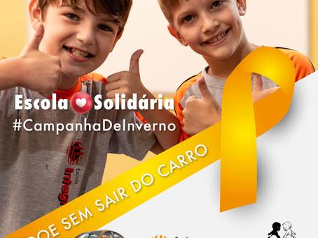 ESCOLA SOLIDÁRIA ❤️ CAMPANHA DE INVERNO