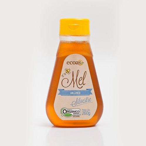 Mel Silvestre Orgânico bisnaga 260 g - Ecoas