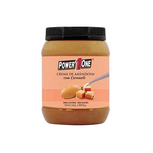Creme de Amendoim com Caramelo 1Kg – Power One