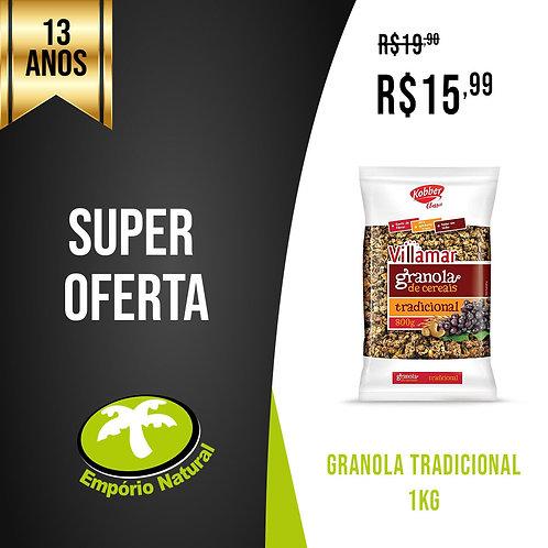 Granola tradicional 1kg - Villamar