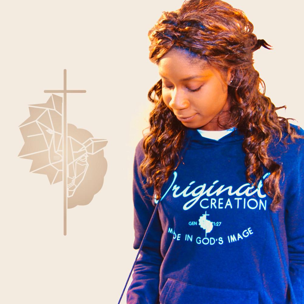 Christian womens hoodie by Evanwear