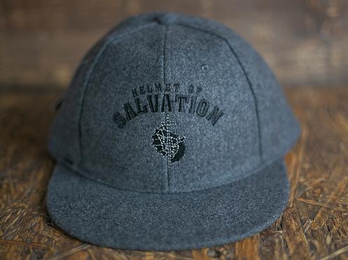 'Helmet of Salvation' Wool Snapback