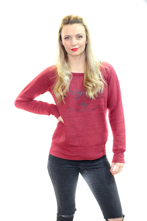 red ladies christian sweatshirt