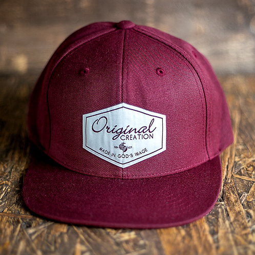 'Original Creation' Premium Snapback Cap