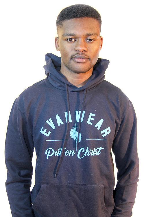 Navy Christian hoodie
