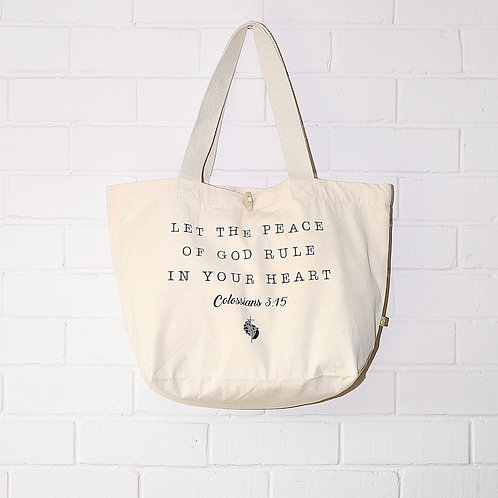 'Peace of God' Large Tote